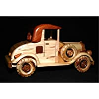 Handcrafted Wooden Toy Car Classic Vintage Model CMC_MODELT_004