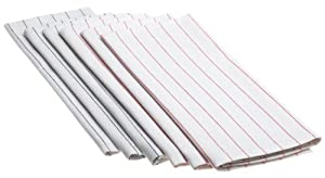 DII Lint Free Set of 6 Glass Towels Mixed