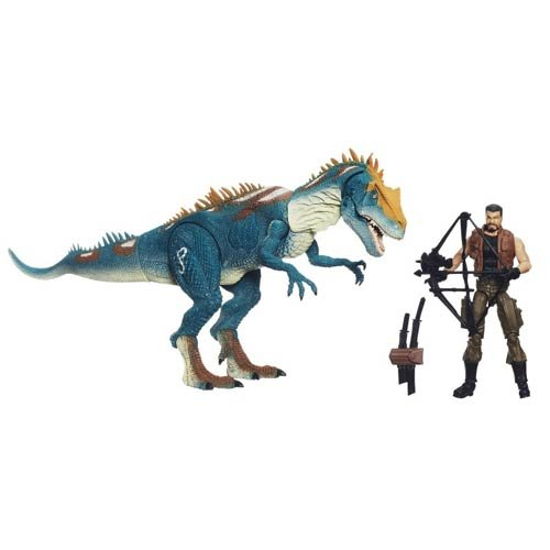 Jurassic Park Dino Showdown Allosaurus Assault