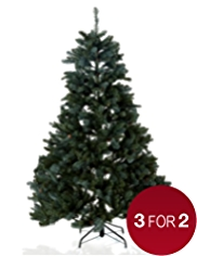 6ft Luxury Pre-Lit Spruce Tree