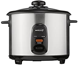 Brentwood TS-15 8-Cup Stainless Steel Rice Cooker by Petra (Drop Ship)