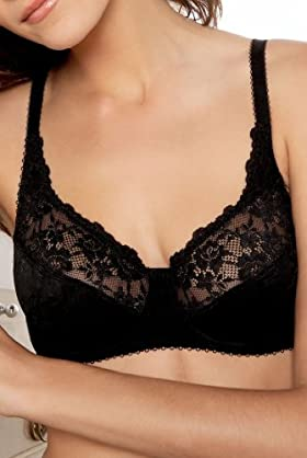 Jacquard Lace Underwired Bra [T33-2781-S]