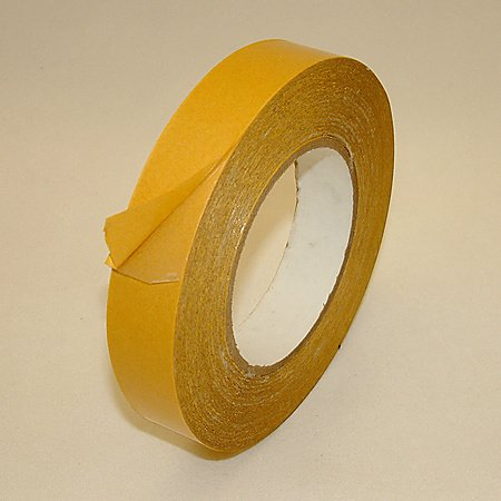 Jvcc Dc-1503 Double Coated Film Tape (Rubber Adhesive): 1 In. X 60 Yds. (Clear)
