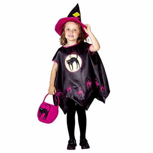 Witch Girls Costume Halloween Cosplay Costume