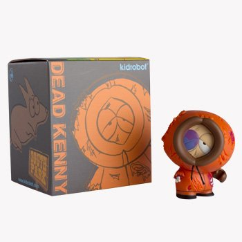 Picture of Kidrobot South Park: Collectible Dead Kenny Mini Figure by Kidrobot® (B0050CF4OA) (Kidrobot Action Figures)