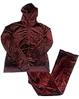 Zenana Womens Velour Suit Set