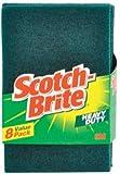 3M 228 Scotch-Brite Heavy Duty Scour Pad, 8 Count