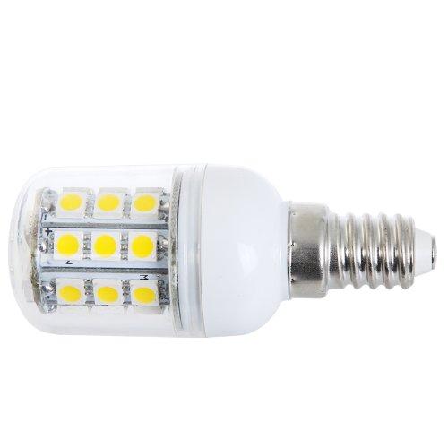 Kingzer E14 5W 220V 30 Led Smd 5050 Led Corn Light Bulb Lamp Warm White