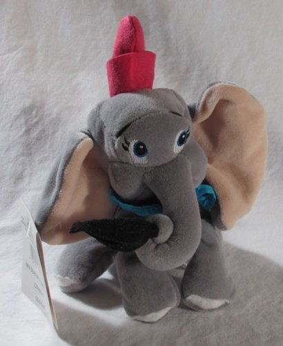 "Disney Dumbo the Elephant 8"" Bean Bag Plush Doll - 1"