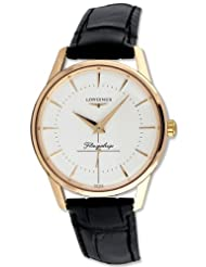 Longines Flagship Heritage Automatic 18k Solid Rose Gold Mens Watch L4.746.8.72.0