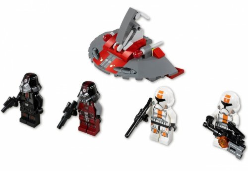 LEGO Star Wars 75002 AT-RT und 75001 Republic Troopers vs. Sith Troopers 9120055080657