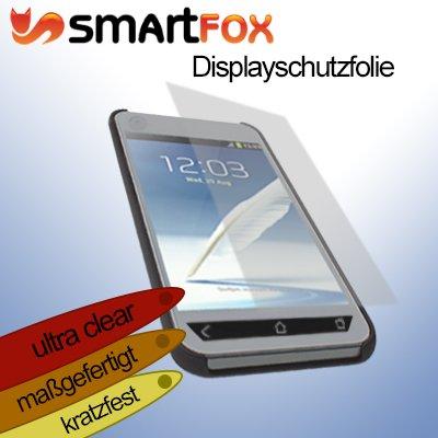 Smartfox Ultraclear Displayschutzfolie für Samsung Ativ S GT-i8750 Odyssey SCH-i930