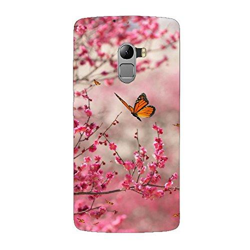 premium selection af913 8ea7d Clapcart Butterfly Design Printed Mobile Back Cover Case For Lenovo K4 Note  / Lenovo A7010 -Multicolor Buy Clapcart Butterfly Design Printed Mobile ...