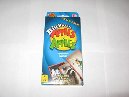 Apples to Apples Big Picture Snack Pack (Big Picture Apples To Apples compare prices)