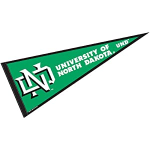 Amazon.com : University of North Dakota Pennant Full Size Felt
