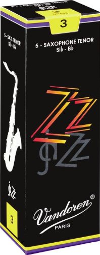 Vandoren ZZ Tenor Saxophone Reeds #3, Box of