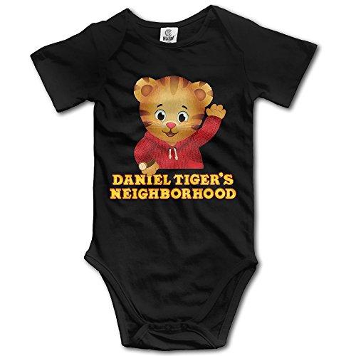 [NINJOE Toddler Hello Tiger Short-Sleeve RomperPlaysuit 12 Months Black] (Odd Squad Costume)