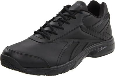 Reebok Men's Reeshift DMX Ride Walking Shoe,Black/Rivet Grey/Sunsprite,11.5 M US