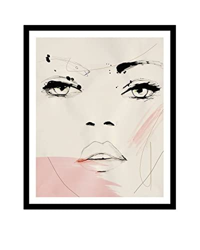 "Leigh Viner ""Shadow Opus"" Artwork on Framed Paper"