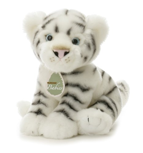 "Aurora World 12"" Teo The White Tiger"