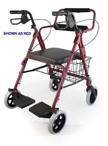 Bantex Transport Rollator Walker/Chair/Wheelchair -- 3-in-1 solution