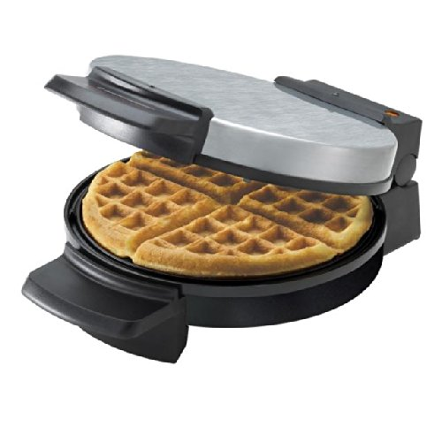 Black & Decker Chrome Belgian Waffle Maker WMB505