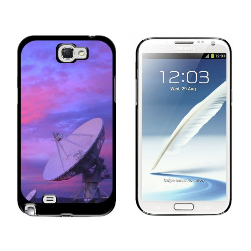 Very Large Array Vla Radar Telescope Dishes New Mexico At Sunset - Snap On Hard Protective Case For Samsung Galaxy Note Ii 2 - Black