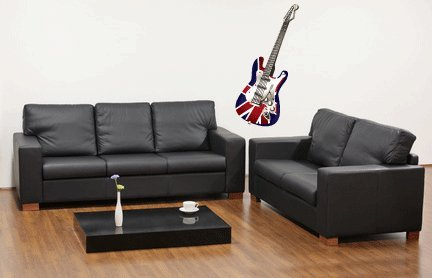 Electric Guitar Wall Decal Sticker Graphic By Lks Trading Post