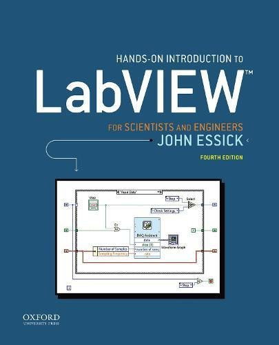 Hands-On Introduction to LabVIEW for Scientists and Engineers [Essick, John] (Tapa Blanda)