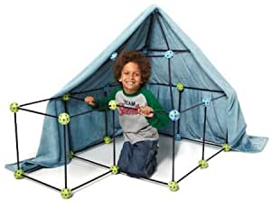 Construction Fort by Discovery Kids 72pc Build & Play