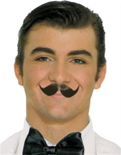 Winged Englishman Black Moustache