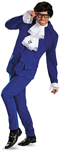 Austin Powers Deluxe Adult Groovy Costume fits XL 42-46