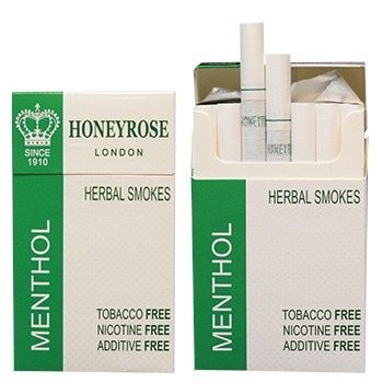 honeyrose-menthol-herbal-cigarettes