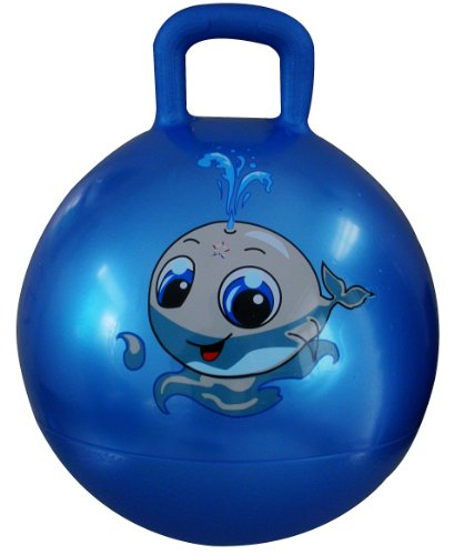 Space Hopper Ball Blue 18in 45cm Diameter For Ages 3 6