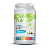 Vega One All in One Nutritional Shake Tub, French Vanilla, Large, 29.2 Ounce