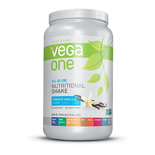 Vega One All-in-One Nutritional Shake, French Vanilla, 29.2 Ounce