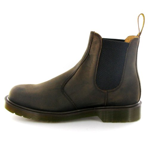 Dr.Martens 2976 Chelsea Brown Leather Mens Boots Size 8