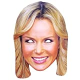 Amanda Holden Celebrity Cardboard Mask - Single