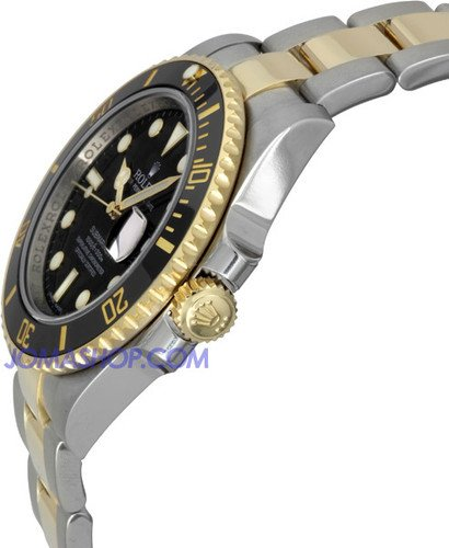 Rolex Submariner Black Index Dial Oyster Bracelet Mens Watch 116613BKSO