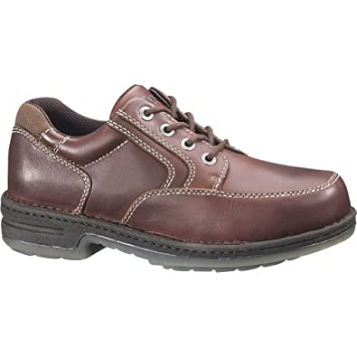 Men's Wolverine® Wolverine DuraShocks® Oxford (7.5 EW in Maple/Dark Brown)