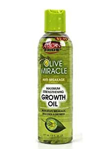 Amazon.com : African Pride Olive Miracle Hair Growth Oil 6 ...