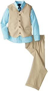Nautica Boys 2-7 Solid Ticking Vest Set from Nautica