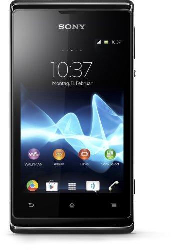 Sony Xperia E Smartphone, Dual SIM, Nero [Germania]