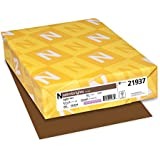 Neenah Astrobrights Color Cardstock, Letter 8.5 x 11 Inches, 65 lb. Cover, Jupiter Java, 250 Sheets (21937)