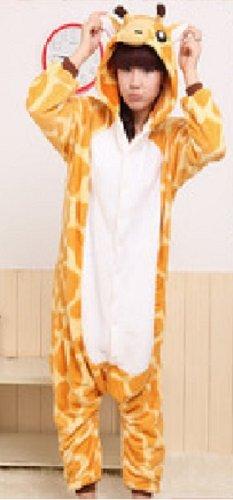 どこから見てもアニマル 着ぐるみ フリース 動物 (キリン, S)