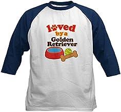 CafePress Kids Baseball Jersey - Golden Retriever Dog Gift Kids Baseball Jersey