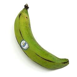 グリーンバナナ (プラタノ) エクアドル産 5本セット (1本あたり250~350g)