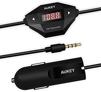 Aukey Wireless FM Transmitter Radio Car Kit