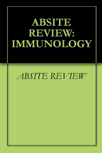 ABSITE REVIEW: IMMUNOLOGY