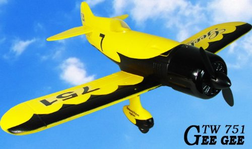 4-Channel Remote Control Airplane R/C Aerobatic GeeBee RC Ready to Fly Cheap